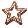 Jewelry findings, CCB Plastic Pendants, Original, Star 34x33mm, Sold by Bag