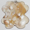 Shell Pendant, 50x55mm, Sold by PC