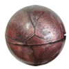 Red Bronze Acrylic Beads, Round 24mm, Sold by Bag