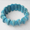 Turquoise Bracelet,28mm, Length Approx:7.1-inch, Sold by Strand