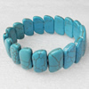 Turquoise Bracelet,19mm, Length Approx:7.1-inch, Sold by Strand
