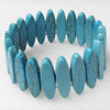 Turquoise Bracelet,30mm, Length Approx:7.1-inch, Sold by Strand