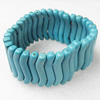 Turquoise Bracelet,32mm, Length Approx:7.1-inch, Sold by Strand