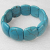 Turquoise Bracelet,22mm, Length Approx:7.1-inch, Sold by Strand