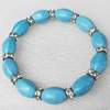 Turquoise Bracelet,10mm, Length Approx:7.1-inch, Sold by Strand