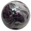 Acrylic Beads Plated AB, Round, 18mm, Sold by Bag