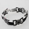 Zinc Alloy Bracelets, Bead Size:19x26mm, Sold by Dozen