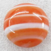 Agate Cabochons,Round, 18mm, Sold by PC