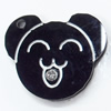 Acrylic Pendants, 23x19mm Hole:1.5mm, Sold by Bag