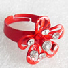 Iron Ring, Flower, 20mm, Sold by PC