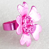 Iron Ring, Flower, 31mm, Sold by PC