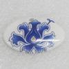 Ceramics Pendant, 24x36mm, Sold by PC