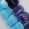 Ceramics Beads, Mix Color, 30x22mm, Sold by Bag