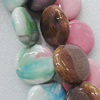 Ceramics Beads, Mix Color, 31x27mm, Sold by Bag