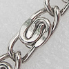 Iron Jewelry Chains, Lead-free Link's size:6x15mm, Sold by Group