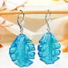 Lampwork Glass Earring, Sold by Pair