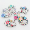 Pottery Clay Pendants/Earring charm, Mix Style, 29x54-38x50mm, Sold by Group