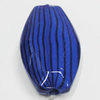 Watermark Acrylic Beads, 16x28mm, Sold by Bag
