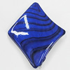 Watermark Acrylic Beads, Twist Diamond 26x38mm, Sold by Bag