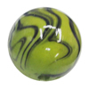 Watermark Acrylic Beads, Round 12mm, Sold by Bag