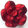 Spray-Painted Acrylic Flower, 26mm, Sold by PC