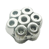 Spacer Zinc Alloy Jewelry Findings, Lead-free 9mm, Sold by Bag