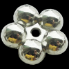 CCB Plastic Spacer Beads, Jewelry findings, 20x20x8mm, Sold by Bag