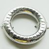 CCB Plastic Donut, Jewelry findings, 25x25mm, Sold by Bag