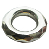 CCB Plastic Donut, Jewelry findings, 35x35x8.5mm, Sold by Bag