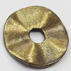 Spacer Zinc Alloy Jewelry Findings, Lead-free, 10mm, Sold by Bag