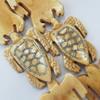 Natural Tibetan Yak Bone Beads, Handmade Animal, 26x38mm, Sold by PC