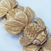 Natural Tibetan Yak Bone Beads, Handmade Animal, 50x45mm, Sold by PC