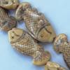 Natural Tibetan Yak Bone Beads, Handmade Animal, 43x21mm, Sold by PC
