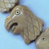 Natural Tibetan Yak Bone Beads, Handmade Animal, 32x26mm, Sold by PC
