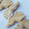 Natural Tibetan Yak Bone Beads, Handmade Animal, 37x15mm, Sold by PC