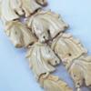 Natural Tibetan Yak Bone Beads, Handmade Animal, 25x25mm, Sold by PC