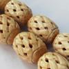 Natural Tibetan Yak Bone Beads, Handmade Drum, 22mm, Sold by PC