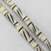 Natural Tibetan Yak Bone Beads, Handmade column, 5x18mm, Sold by PC