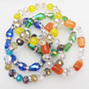 Cateye Bracelet, mix style & mix color, Length:About 7.8 Inch, Sold by group