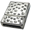 Magnetic Clasps, Zinc Alloy Jewelry Findings Lead-free, 24x18mm, Hole:15x3mm, Sold by Bag