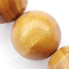 Gemstone beads, grain stone, round, 6mm, Sold per 16-inch Strand