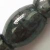 Gemstone beads, labradorite, rice, 12x16mm, Sold per 16-inch Strand