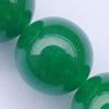 Gemstone beads, malai jade(dye), round, A grade, 10mm, Sold per 16-inch Strand