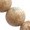 Gemstone beads, picture jasper(Chinese), round, 4mm, Sold per 16-inch Strand