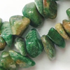 Gemstone beads, African jade, chips, A-grade, 7-10mm, Sold per 32-inch Strand
