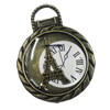 Zinc Alloy Enamel Pendant, fashion jewelry findings, Lead-free 34mm, Sold by PC