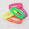 Acrylic Chains, Fashion jewelry chains, Mixed Color, 18x33mm, Sold by Bag