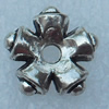 Spacer, Fashion Zinc Alloy Jewelry Findings, Lead-free, 10mm, Sold by Bag