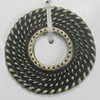 Spacer. Fashion Zinc Alloy Jewelry Findings. Lead-free. 26mm. Sold by Bag