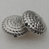 Beads, Fashion CCB plastic Jewelry findings, 18x7mm. Hole:2mm. Sold by Bag